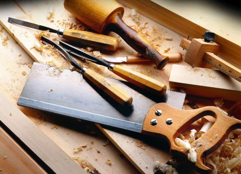 This image shows woodworking tools.